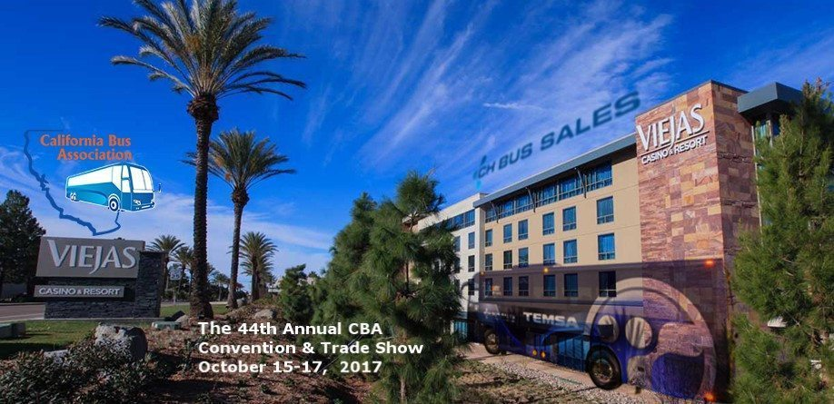 California Bus Association (CBA) 44th Annual Convention & Trade Show CH Bus Sales